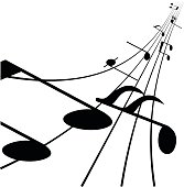 Music Note for graphic design