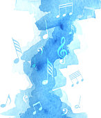 istock music note watercolor 1164871204