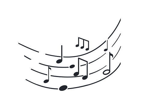 Music Notes and Melody Tablature, Sounds Signs