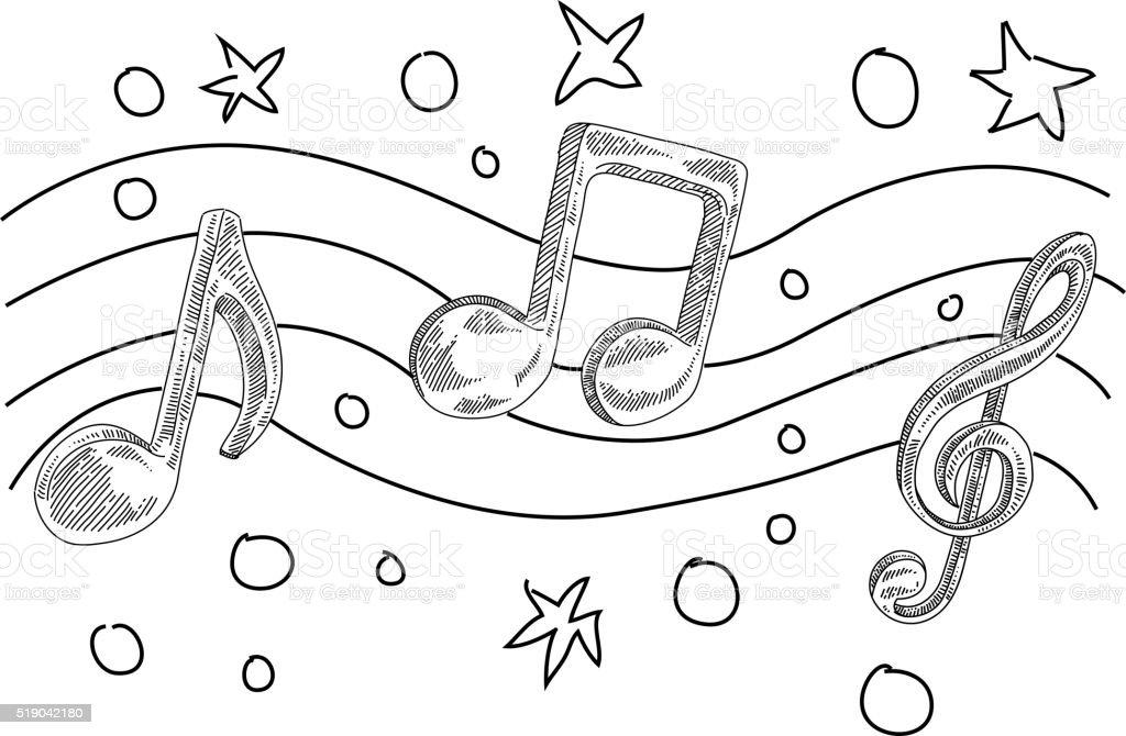 note musicali di disegno immagini vettoriali stock e music note clipart music note clipart png