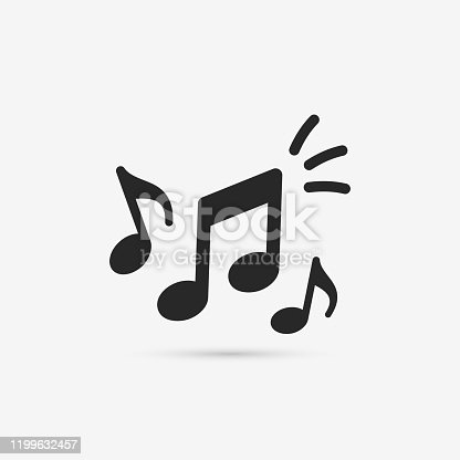 Musical key signs. Vector symbols on white background.