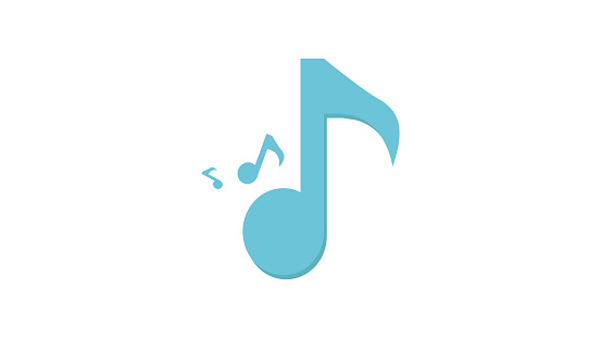 Music notes line Icon