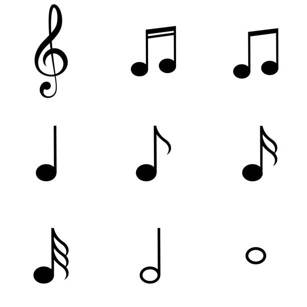 Best Musical Note Illustrations, Royalty-Free Vector ...