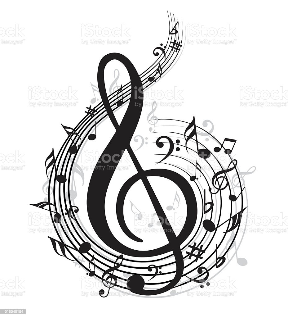 Music notes stock vector art more images of abstract 618546184 music notes royalty free music notes stock vector art amp more images of abstract biocorpaavc Images