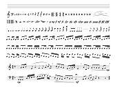 istock Music notes - vector illustration 1078557352