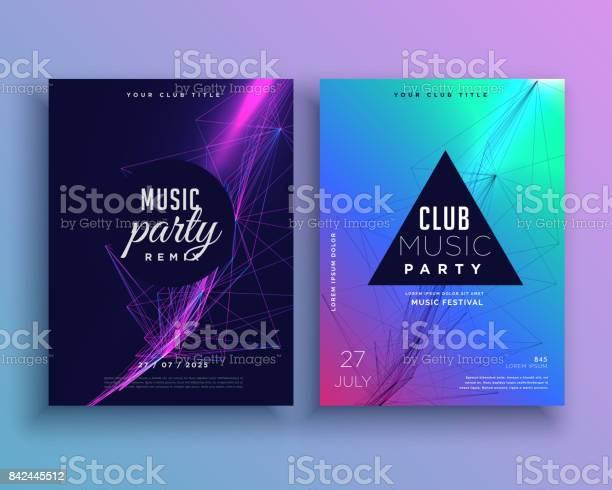 Music party invitation poster template set vector id842445512?b=1&k=6&m=842445512&s=612x612&h=i0gdlsxe6hyv1 apzxggo1zgzyxli0rb 6xekqp7dts=