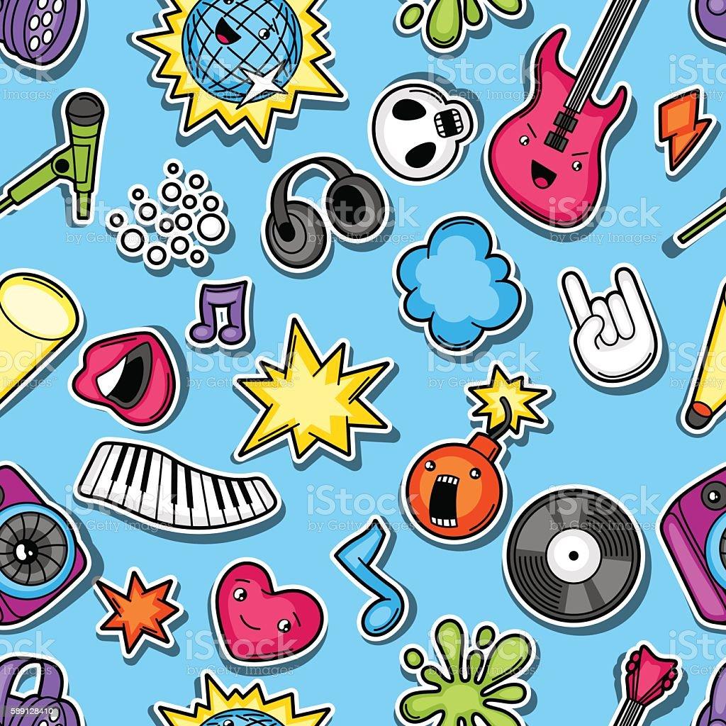 Simple Wallpaper Music Kawaii - music-party-kawaii-seamless-pattern-musical-instruments-symbols-and-vector-id589128410  HD_583832.com/vectors/music-party-kawaii-seamless-pattern-musical-instruments-symbols-and-vector-id589128410