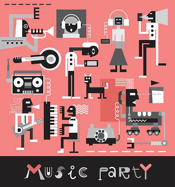 Musique de fête - Illustration vectorielle