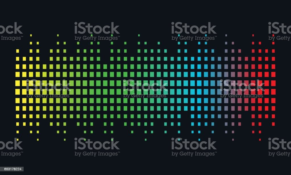 Music pattern illustration concept Sound Wave, Audio Technology, Abstract Shape
