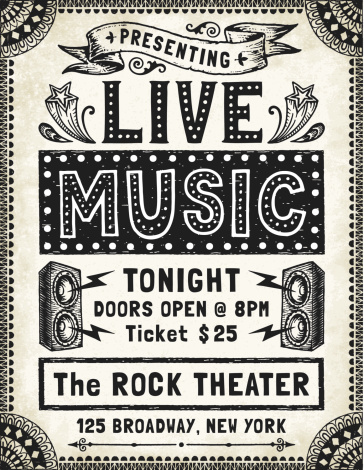 Music Poster-Flyer