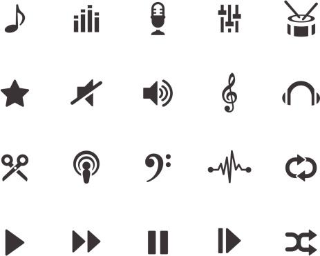 Music Production Symbols