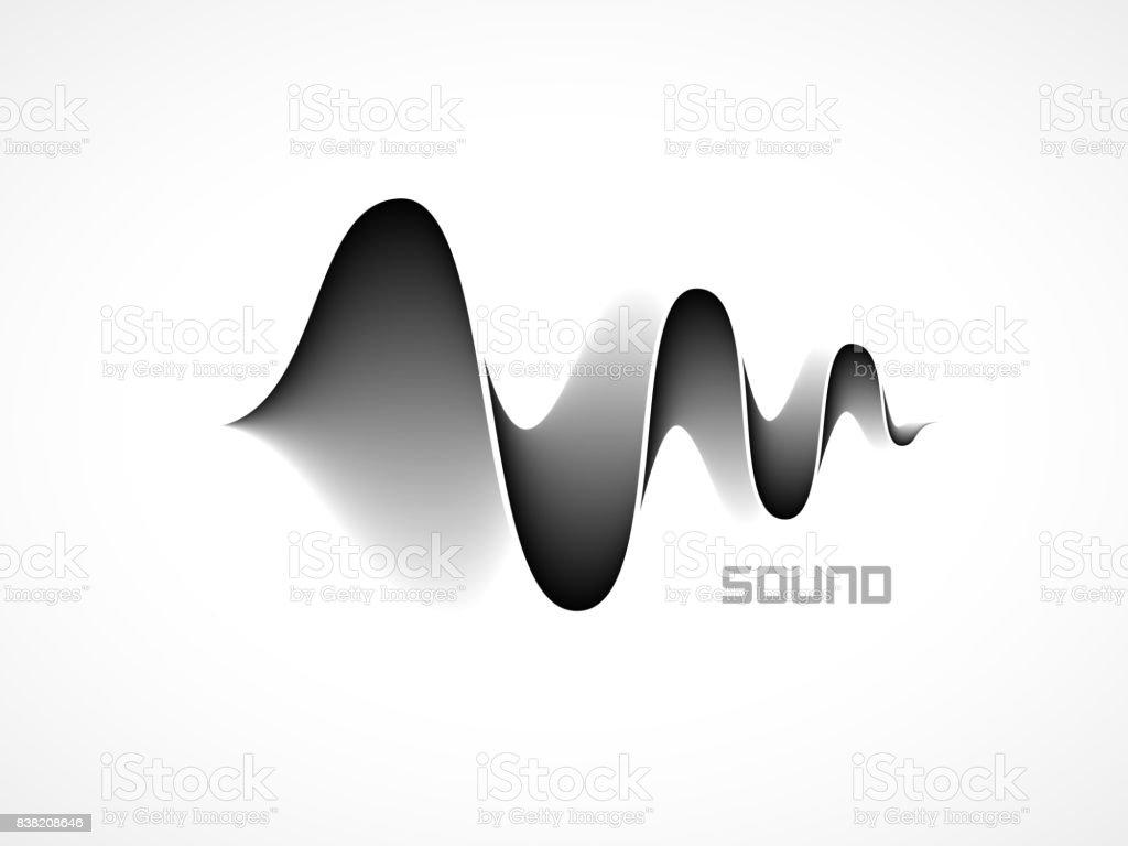 Ilustración de Ondas De Sonido De La Música y más banco de imágenes ...