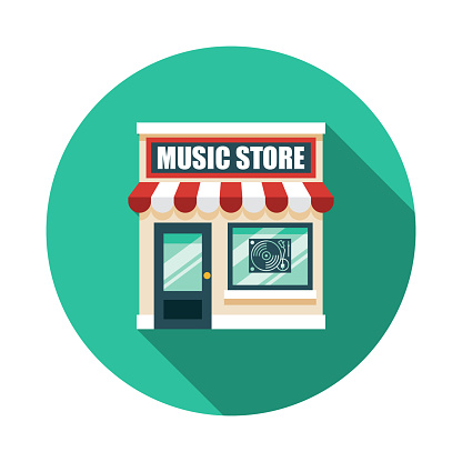 Music Store Icon