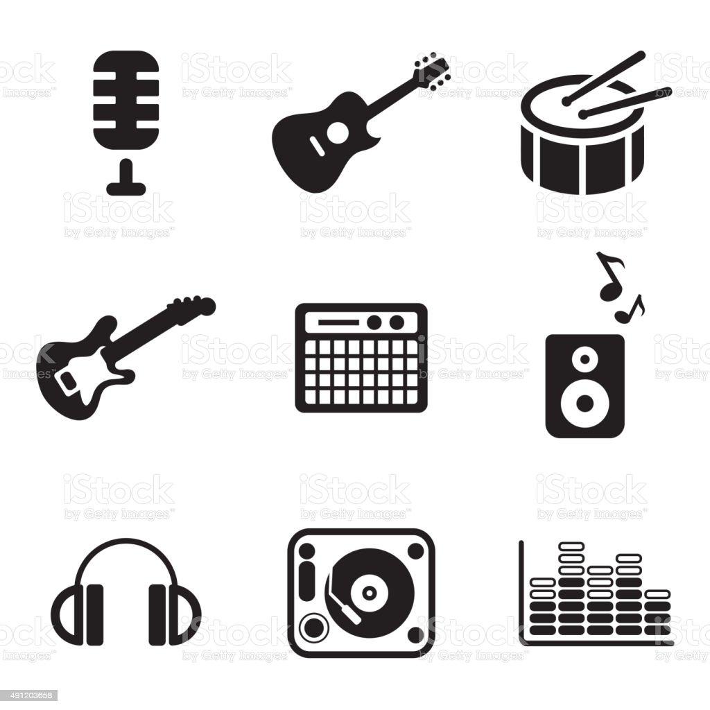 Music Studio Icons