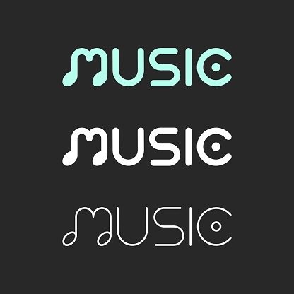 Music - Typography Series