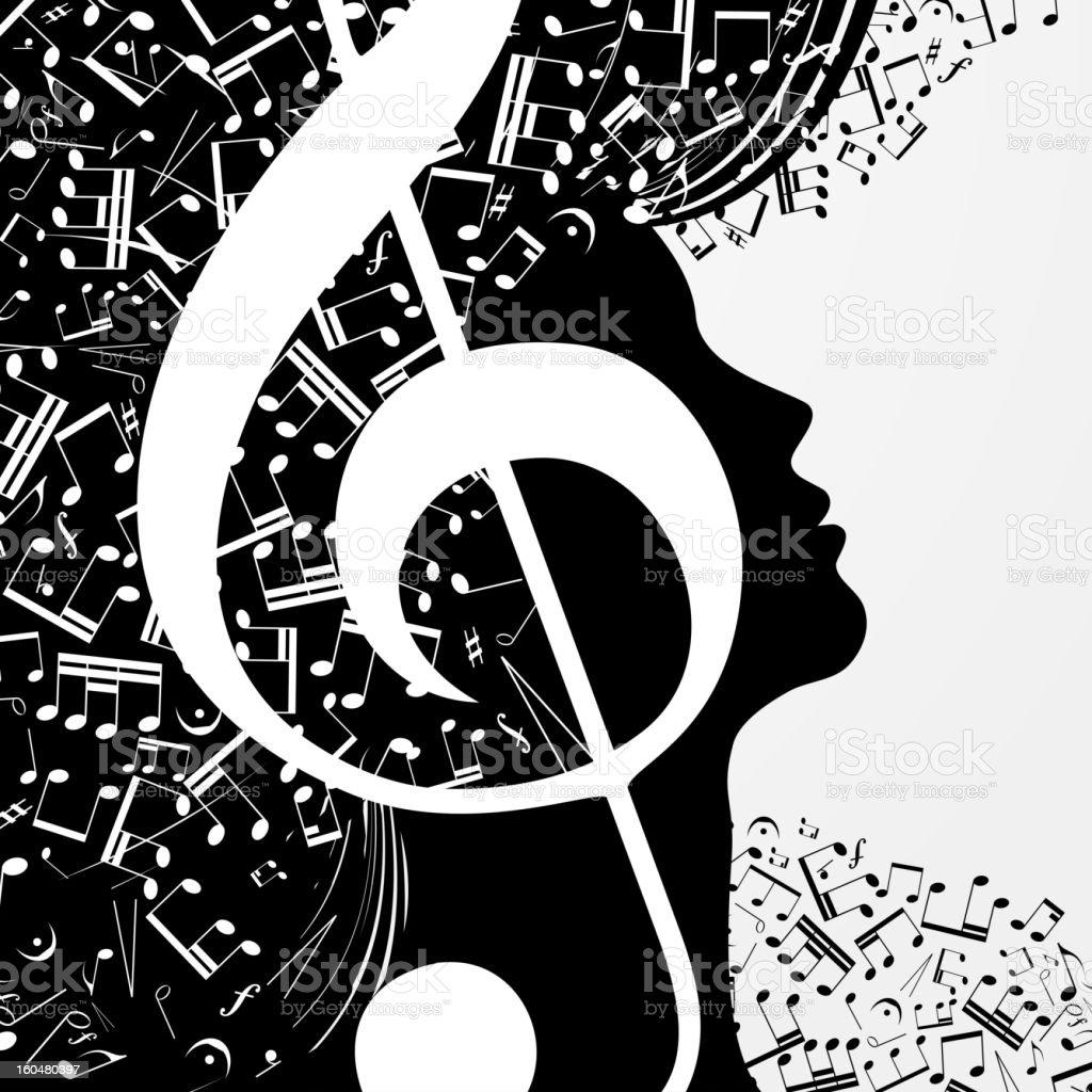 Music vector art illustration
