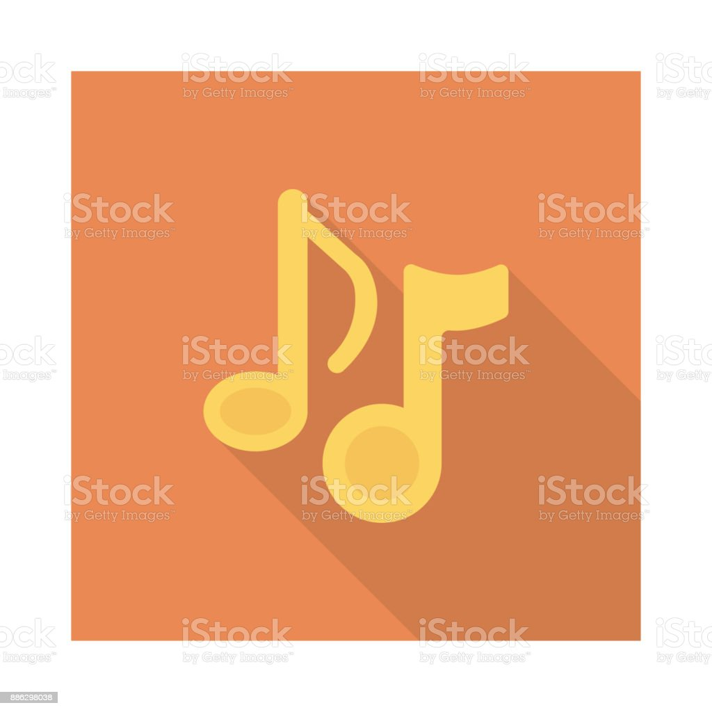 music vector art illustration