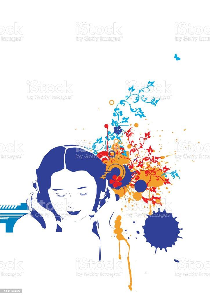 music royalty-free stock vector art
