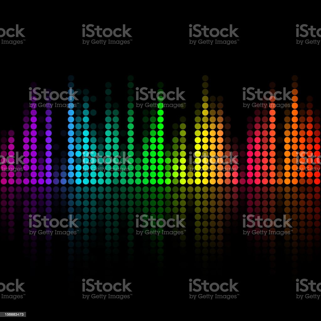 Music volume abstract background royalty-free music volume abstract background stock vector art & more images of abstract