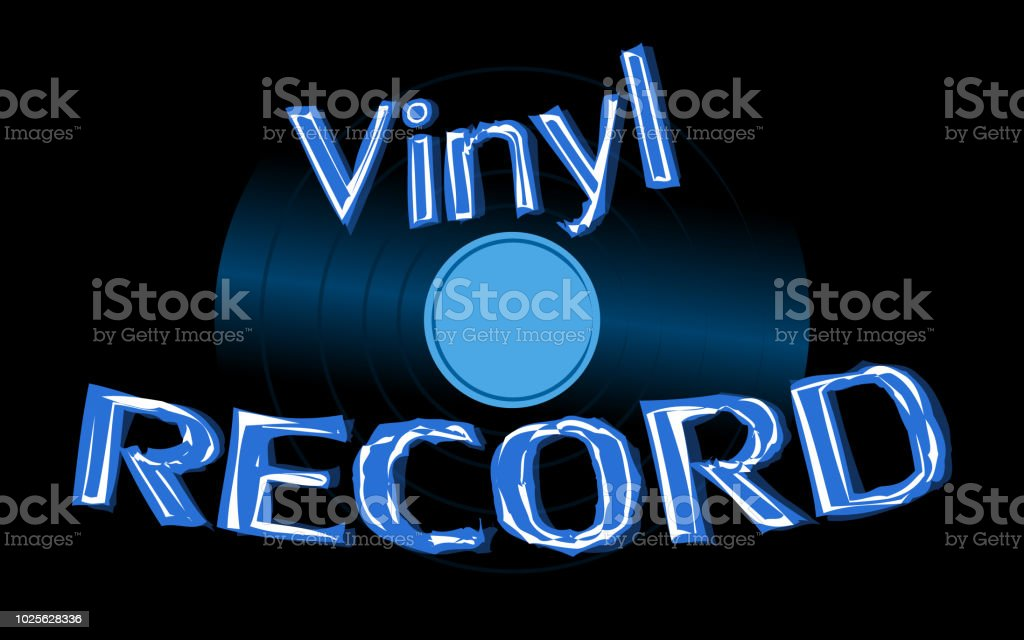 Musical Audio Is An Old Vintage Retro Hipster Antique Vinyl Record