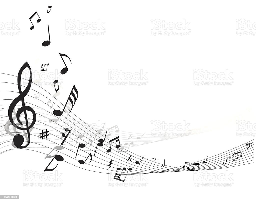 musical background royalty-free musical background stock vector art & more images of black color