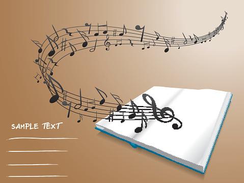 Musical book.