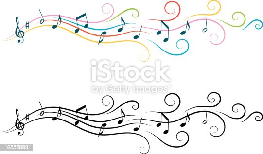 Musical design elements.