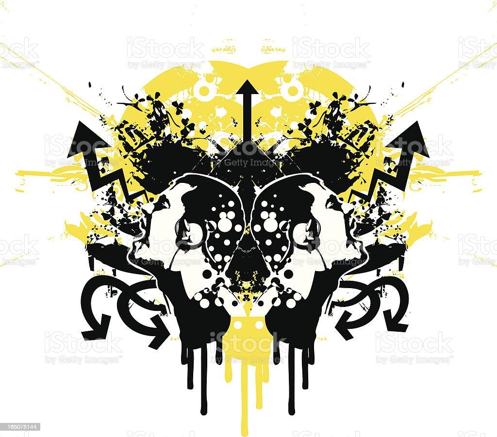 Musical design. royalty-free stock vector art