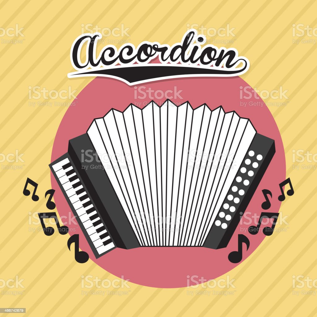 Musical Design royalty-free stock vector art
