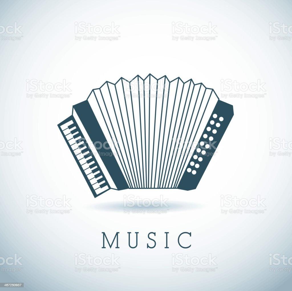 Musikalische Design – Vektorgrafik