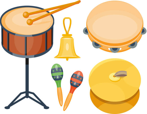 Best Percussion Instrument Illustrations, Royalty-Free Vector Graphics & Clip Art - iStock