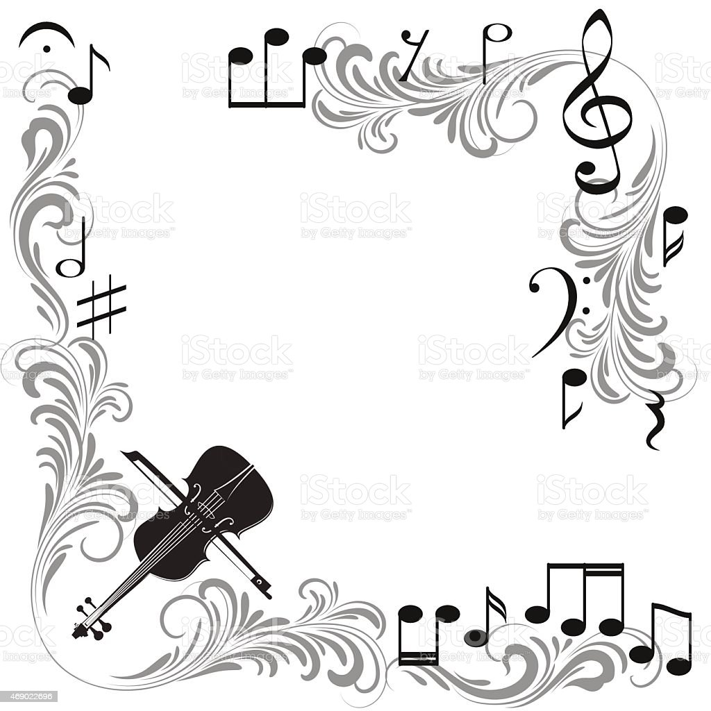 Musical Frames Stock Vector Art & More Images of 2015 469022696 | iStock