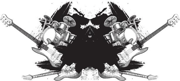 Musical Grunge Design