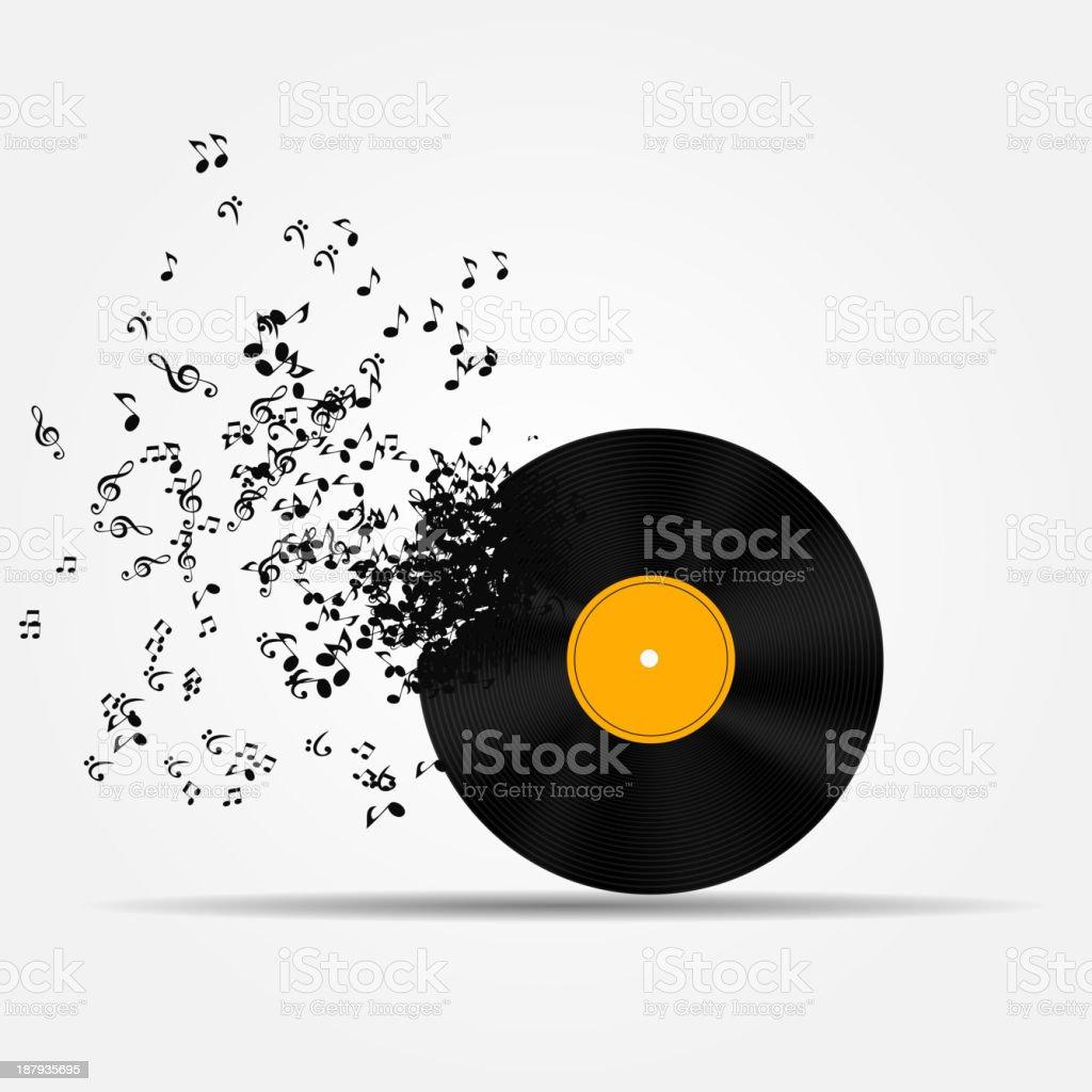 A musical icon vector illustration vector art illustration