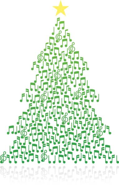 Christmas Music Notes Vector Art Icons And Graphics For Free Download