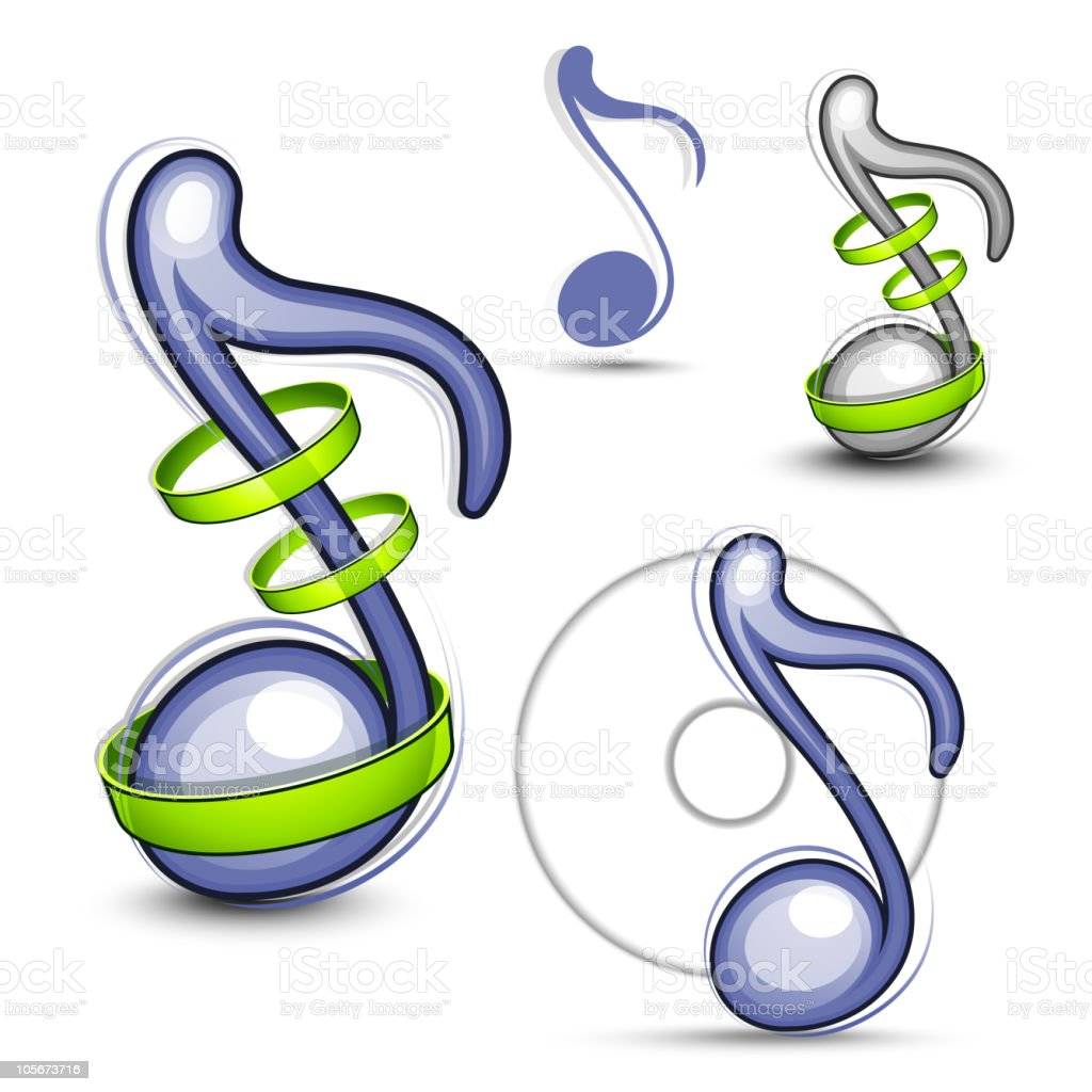 Musical note royalty-free musical note stock vector art & more images of color image