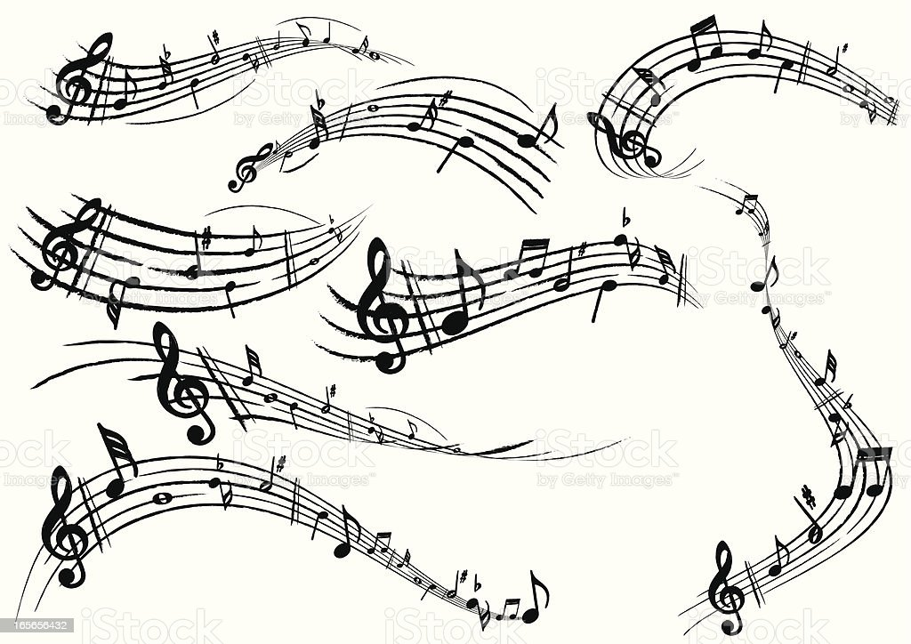 Musical Note royalty-free stock vector art