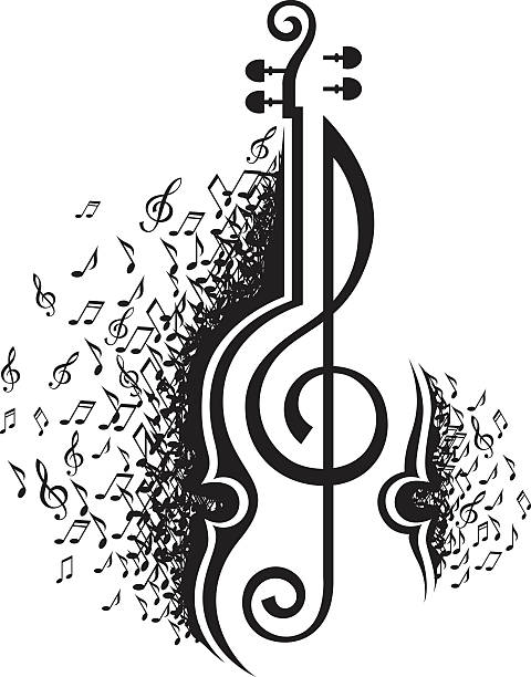 Best Symphony Orchestra Illustrations, Royalty-Free Vector