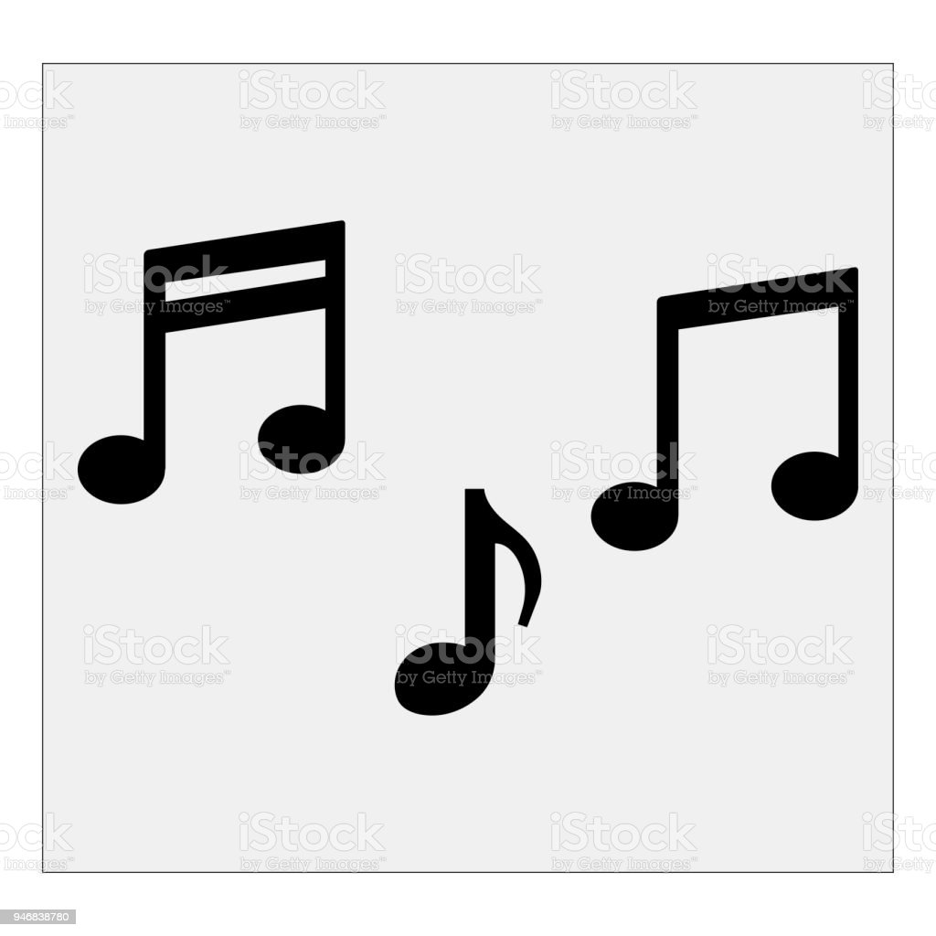 musical notes vector illustration stock vector art more images of rh istockphoto com Thank You Clip Art Ladybug Thank You