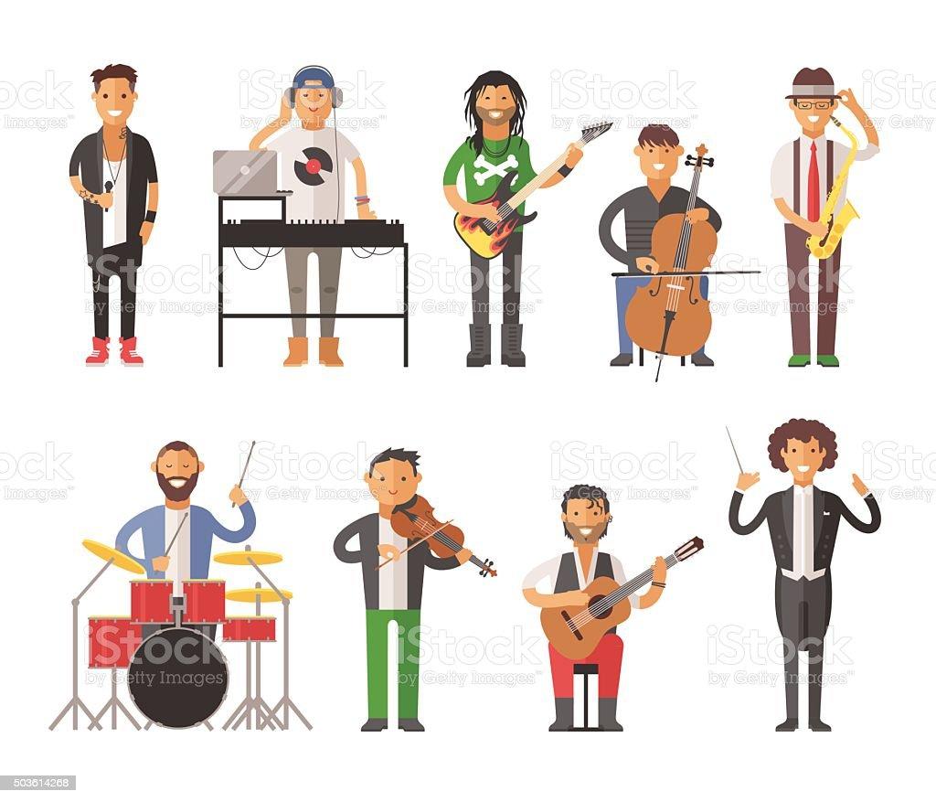 royalty free musician clip art vector images illustrations istock rh istockphoto com musicians clip art musicians clip art