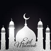 muslim eid festival background