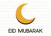 Muslim festival Eid Mubarak background.