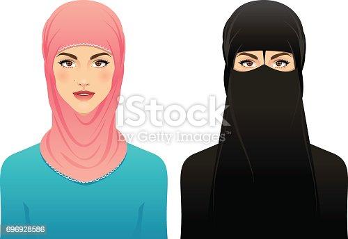 istock Muslim woman 696928586