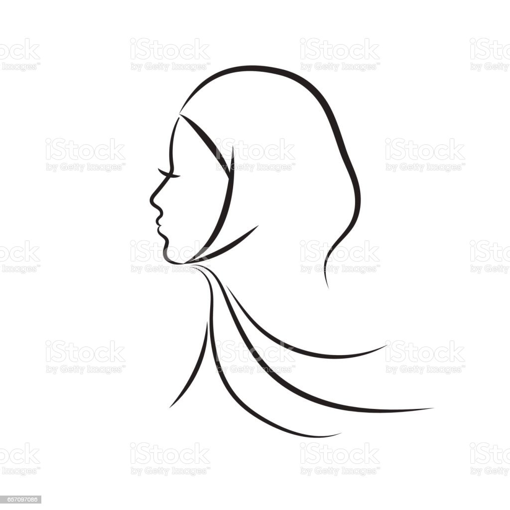 royalty free hijab clip art vector images amp illustrations