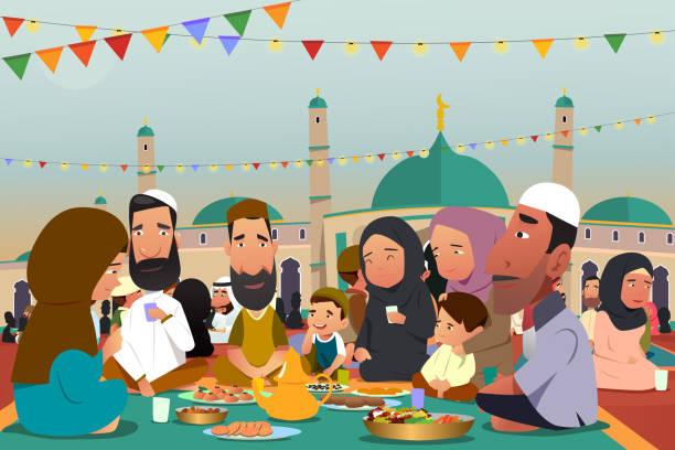 Ramadan stock illustrations