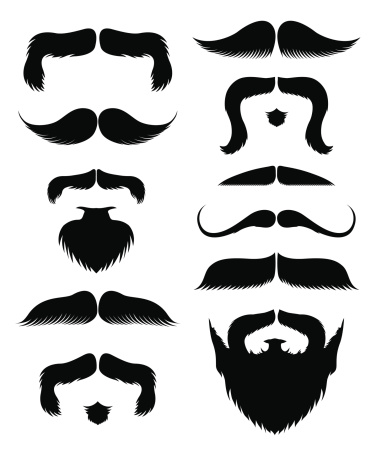 Mustache and beards