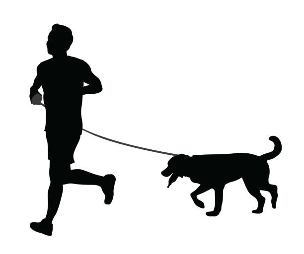 Mutual Exercise vector art illustration