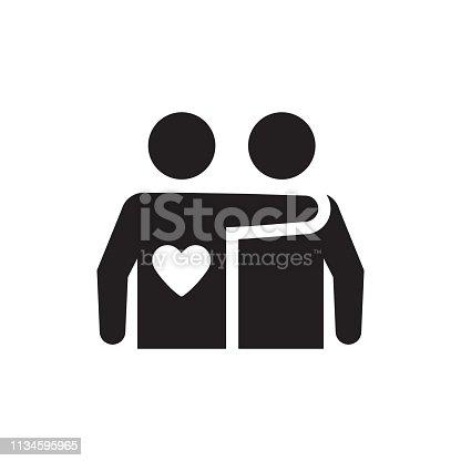 Mutual friendship icon