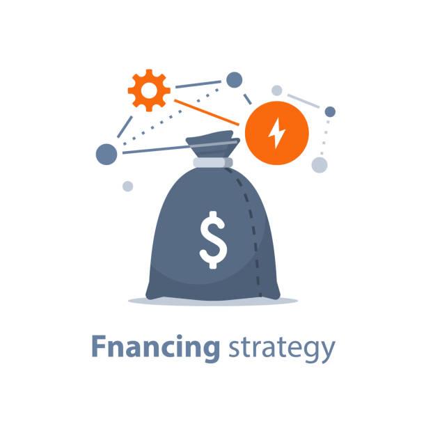 investmentfonds, treuhandverwaltung, anlagestrategie, finanzanalyse, hedge-fonds, börse und austausch - trust stock-grafiken, -clipart, -cartoons und -symbole