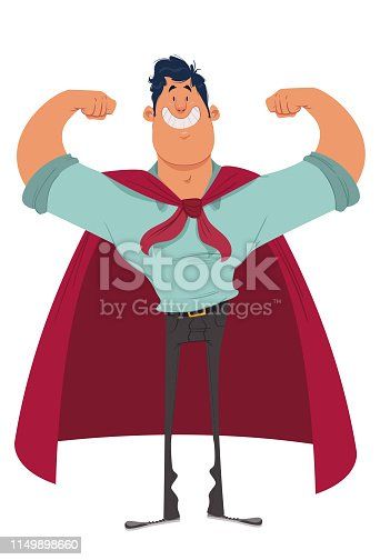 istock My Dad, my hero! 1149898660